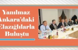 Yanılmaz, Ankara'daki İşadamları ve Bürokratlara...
