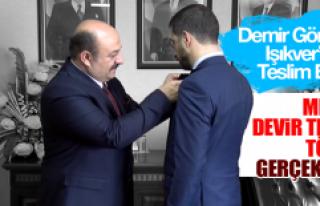 MHP'de Devir Teslim Töreni Gerçekleşti