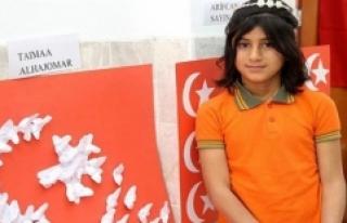 Sığınmacı Öğrencinin Türkiye Sevgisi