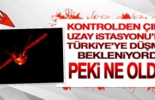 Türkiye'ye Düşme İhtimali Olan Uzay İstasyonuna...