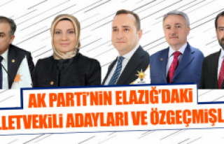 AK Parti'nin Elazığ'daki Milletvekili Adayları...