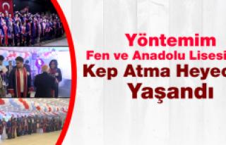 Anadolu ve Fen Lisesi Mezunları Kep Attı