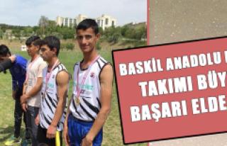 Baskil Anadolu Lisesinden Atletizm Yarışmalarında...