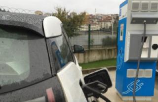 Benzin İstasyonlarına Elektrik Şarj Üniteleri...