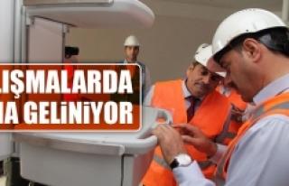 Elazığ Şehir Hastanesi'nde Toplantı Yapıldı