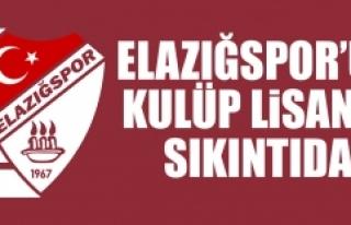 Elazığspor'un Kulüp Lisansı Sıkıntıda
