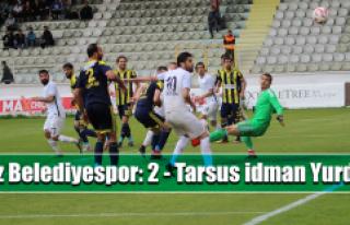 Elaziz Belediyespor, Tarsus İdman Yurdu'na 5-2...