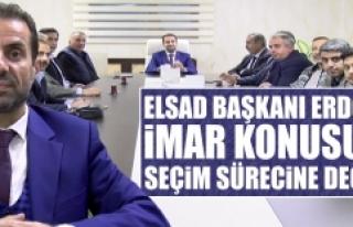 ELSAD Başkanı Erdoğan, İmar Konusu ve Seçim Sürecine...