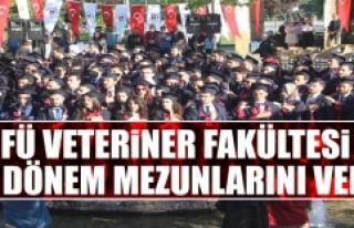 FÜ Veteriner Fakültesi 44. Dönem Mezunlarını...