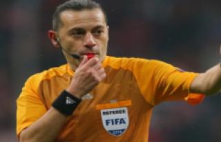 Göztepe - Galatasaray Maçını Cüneyt Çakır Yönetecek