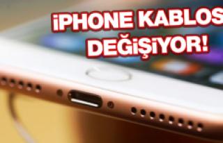 İphone Kablosu Değişiyor!