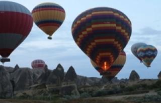 Kapadokya'ya Gelen Turist Sayısında Büyük...