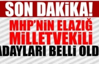 MHP'nin Elazığ Milletvekili Adayları Belli...