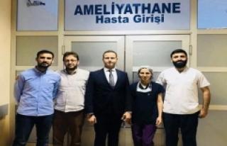 Midyat Devlet Hastanesi'nde İlk Kez Kornea Nakli...