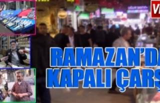 Ramazan'ın Bereketi Yansıdı Ama Esnafı Memnun...