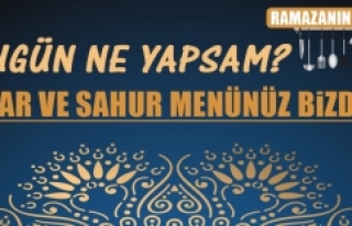 Ramazanın Birinci Gününde Elazığlılara Özel...