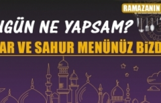 Ramazanın Üçüncü Gününde Elazığlılara Özel...