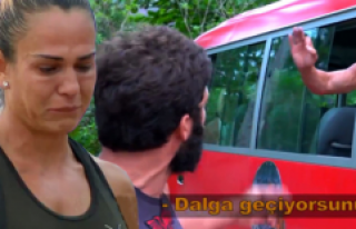 Survivor'da Nagihan'ı Ağlatan Kavga! Turabi...