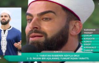 TRT'nin Hilal Kaşlı Hafızı Mustafa Özyılmaz,...