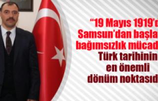 Vali Kaldırım, 19 Mayıs Atatürk'ü Anma Gençlik...