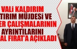 Vali Kaldırım Yatırım Müjdesi ve Diğer Çalışmalarının...