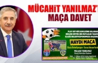 Yanılmaz, Futbolseverleri Belediyespor'a Destek...