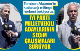 İYİ Parti Milletvekili Adaylarının Seçim Çalışmaları...