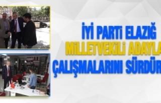 Seçime 1 Gün Kala İYİ Parti Adayları Çalışmalarını...