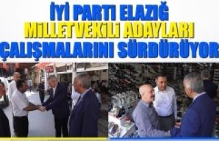 Seçime 2 Gün Kala İYİ Parti Adayları Çalışmalarını...