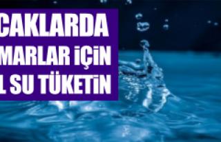 Sıcaklarda Damarlar İçin Bol Su Tüketin