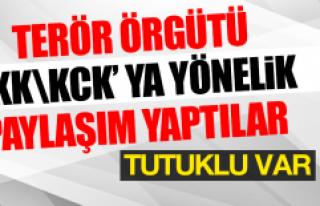 Terör Örgütü PKK KCK' ya Yönelik Paylaşım...