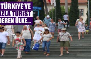 Türkiye'ye en fazla turist nereden geliyor?