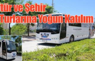"""""""Kültür ve Şehir Turları"""" Yoğun Katılım..."""