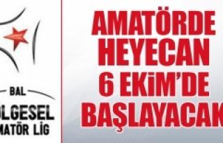 1.Amatör Kümede 2018-2019 Fikstürü Çekildi