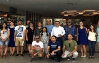 Avrupalı Yardım Gönüllüleri Türk Misafirperverliğine...