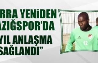 Lamine Diarra Yeniden Elazığspor'da