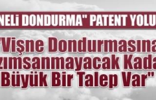 """""""Vişneli Dondurma"""" Patent Yolunda"""
