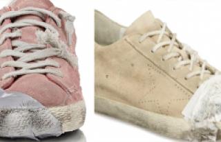 3330 Liraya Satılan Eskimiş Görünümlü Ayakkabı,...