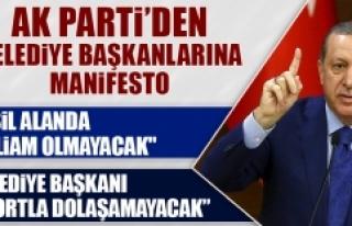 AK Parti'de Yerel Seçim Manifestosu
