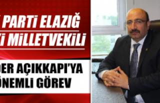 AK Parti Elazığ Eski Milletvekili Ejder Açıkkapı'ya...