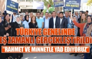 AK Parti İl Teşkilatı Merhum Adnan Menderes'i...
