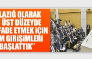 Asilhan Arslan Proje Toplantısına Katıldı