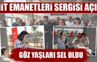 Balıkesir'da Şehit Emanetleri Sergisi Açıldı