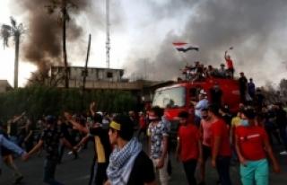 Basra'da Dünkü Olaylarda 3 Kişi Hayatını Kaybetti
