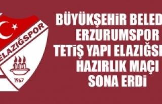 BŞB Erzurumspor - TY Elazığspor Hazırlık Maçı...