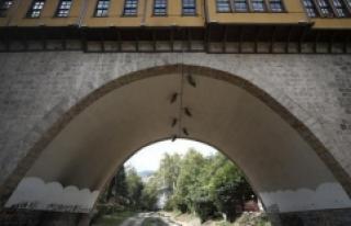 Bursa'daki 576 yıllık Irgandı Çarşılı...