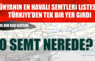 Dünyanın En Havalı Semtleri Listesine Türkiye'den...