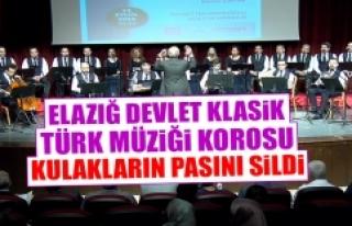 Elazığ Devlet Klasik Türk Müziği Korosu Sezonun...