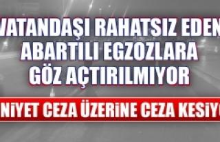 Elazığ Emniyet Müdürlüğü Abartılı Egzozlara...