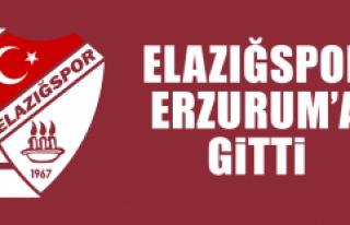Elazığspor Erzurum'a Gitti